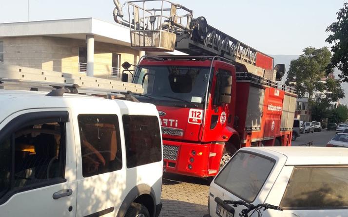 Aydın'da klima bomba gibi patladı trafoyu da patlattı mahallede elektrikler kesildi!