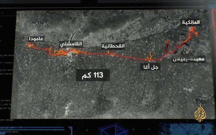 Terör örgütü PKK Türkiye sınırına 113 kilometrelik tüneller kazmış!
