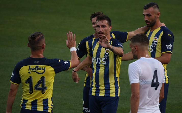 Fenerbahçe hazırlık maçında Kasımpaşa'yı 4 golle geçti