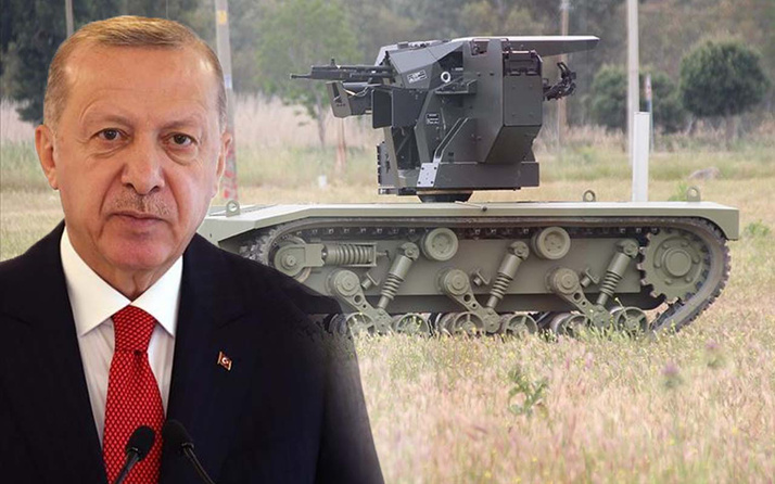 Cumhurbaşkanı Erdoğan beğenmişti! Havada SİHA'lardan sonra karada insansız tank devrede!