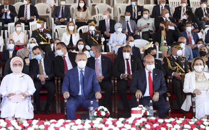 KKTC'de protokol krizi! İYİ Partililer tören alanını terk edip Türkiye'ye döndü