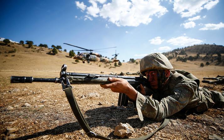 TSK son 5 günde Suriye'nin kuzeyinde saldırı hazırlığındaki 39 teröristi etkisiz hale getirdi