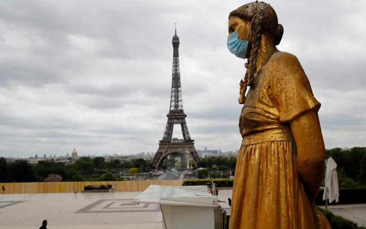 Fransa'da koronavirüs vakalarında görülmemiş artış