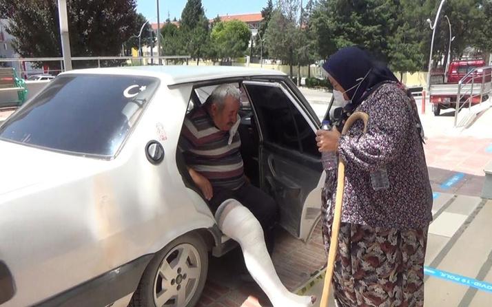 Burdur'da üstüne inek düştü bacağı kırıldı! Davacı olacak