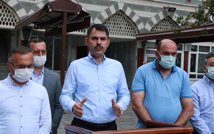 Bakan Murat Kurum: Rize'de TOKİ 550 konut yapacak