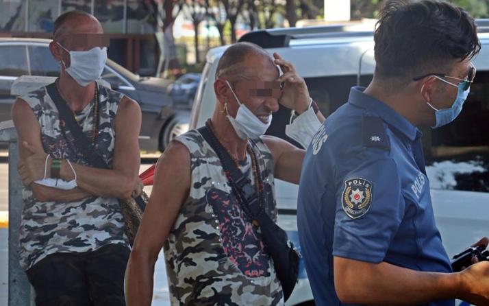 Antalya'da taciz kavgası! Kadınlar bir anda bağırınca ortalık karıştı