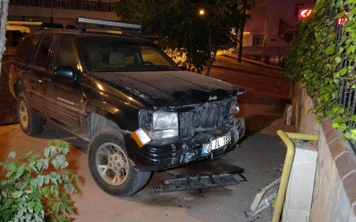 Samsun'da 11 yaşındaki çocuk gizlice anahtarını aldığı araçla kaza yapıp yaralandı