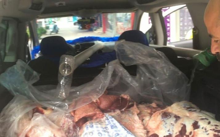 Bursa İnegöl'de etler bozulmasın diye arabasında bulduğu teknik görenleri hayrete düşürdü