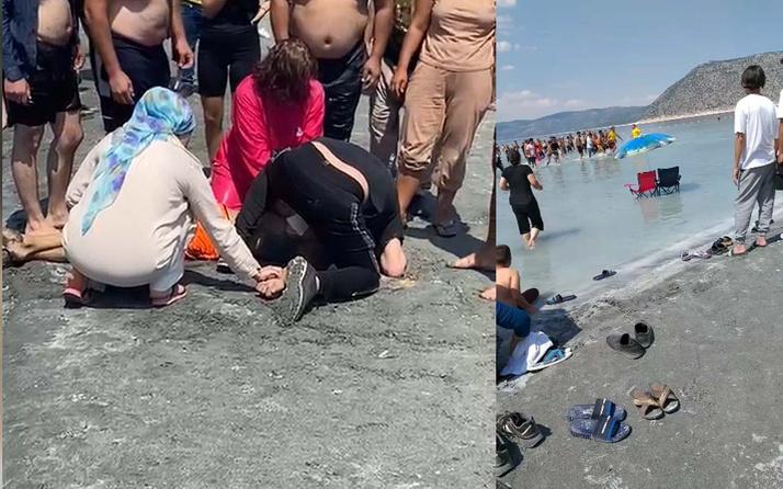 Salda Gölü'nde boğulma vakası! Burdur'da 18 yaşındaki genç kurtarılamadı