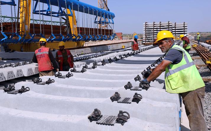 'Hızlı tren' hattı altyapı çalışmaları Bulgaristan sınırına yaklaştı 1 saat 35 dakikaya inecek