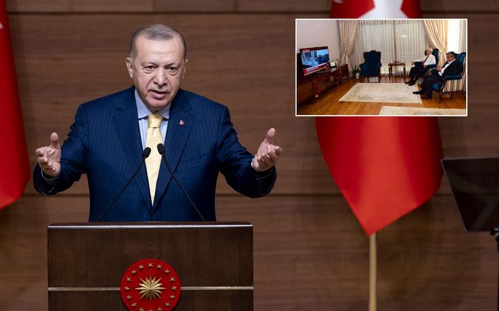 Cumhurbaşkanı Erdoğan'dan Kılıçdaroğlu'na: Ne zaman vurulacak diye herhalde bizi izliyordu