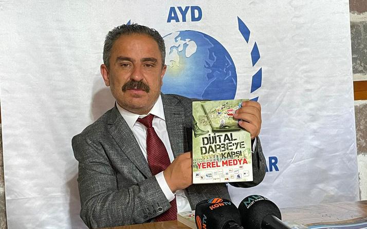 Anadolu Yayıncılar Derneği Başkanı Sinan Burhan'dan Amerika'nın fonladığı medya kuruluşlarına tepki