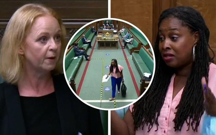 Parlamentoda Boris Johnson'a demediğini bırakmadı! Yalancılıkla suçlayınca...