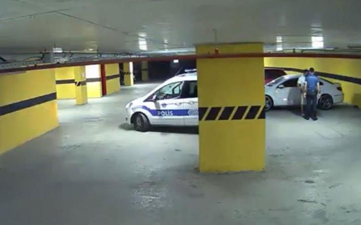 Otoparkta polise yakalanınca 'rüşvet aldınız diye şikayet ederim' dedi