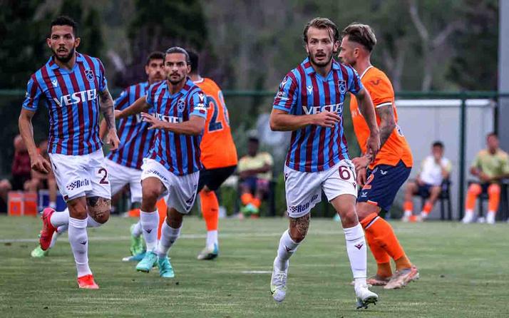 Trabzonspor-Başakşehir hazırlık maçı golsüz eşitlikle son buldu