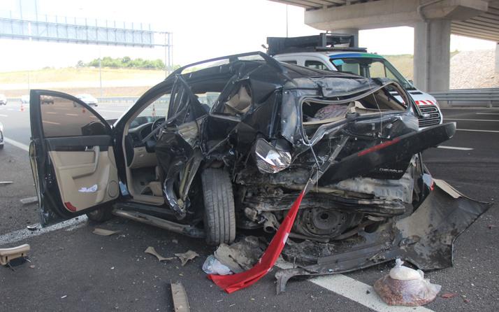 Kocaeli'de bayram dönüşü feci kazada can pazarı: Yaralılar var