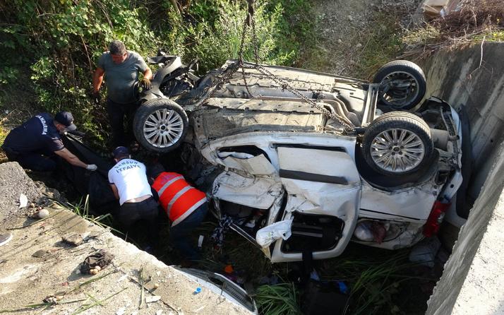 Samsun'da feci kaza! 60 metre sürüklenip ters döndü: Ölüler ve yaralılar var