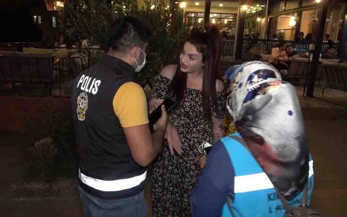 Kırıkkale'de ısrarla maske takmayan kadın: Yaz cezamı