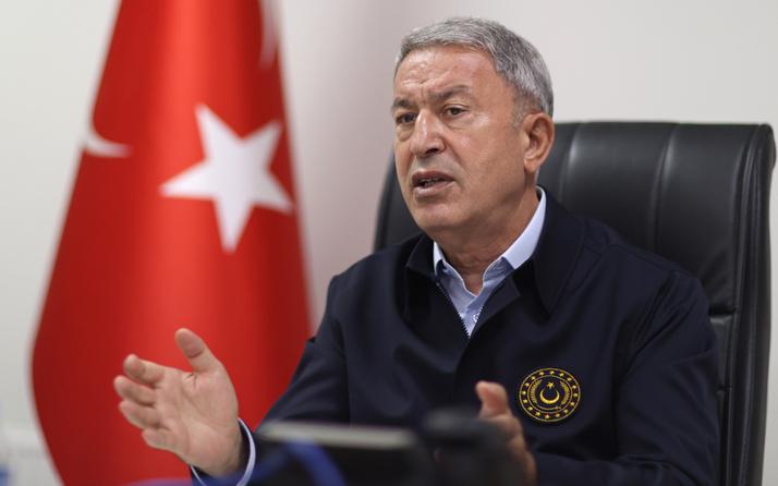 Milli Savunma Bakanı Hulusi Akar: Bu yılın başından itibaren 1581 terörist etkisiz hale getirildi