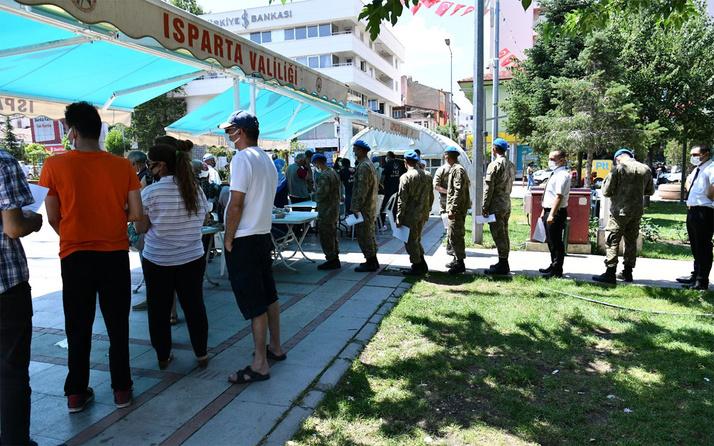 Isparta'da aşılanma oranı yüzde 69'a ulaştı