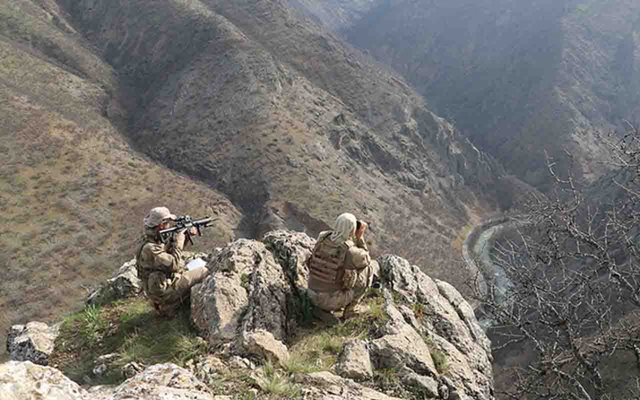 İçişleri Bakanlığı: Hakkari'de 2 terörist etkisiz hale getirildi
