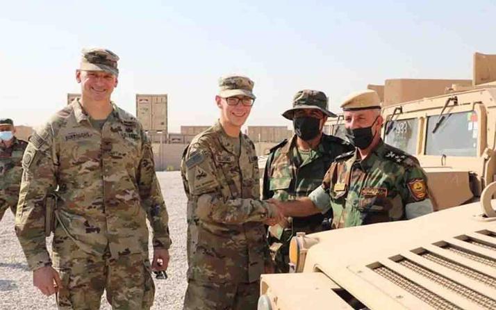 ABD öncülüğündeki DEAŞ karşıtı koalisyon, Peşmergeye askeri yardım yaptı