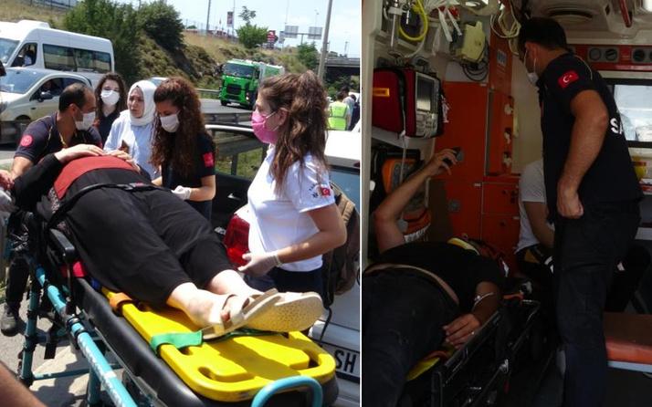 İstanbul'da feci kaza! Her şey saniyeler içinde oldu: Bomba patlar gibi