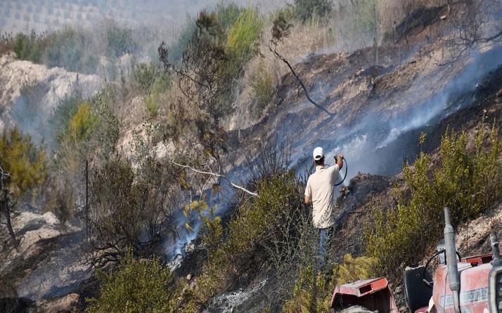 Adana'da orman yangını! Ekiplerin müdahalesi sürüyor
