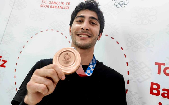 Hakan Reçber Tokyo Olimpiyatlarından madalyayla döndü! 'Çok sıkıntılı dönemler geçirdik'