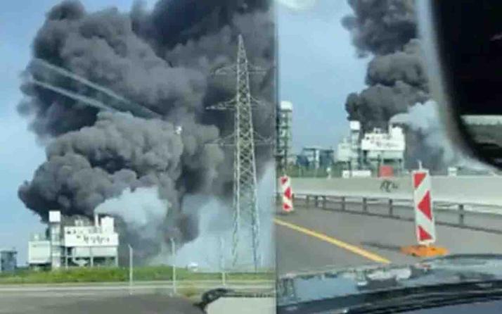 Almanya'da kimya tesisinde patlamanın bilançosu açıklandı