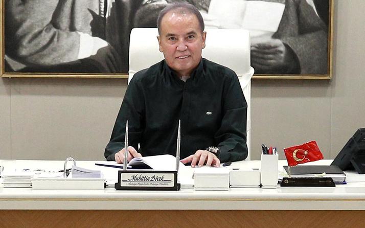 Antalya Büyükşehir Belediye Başkanı Muhittin Böcek'ten 'kundaklama' açıklaması