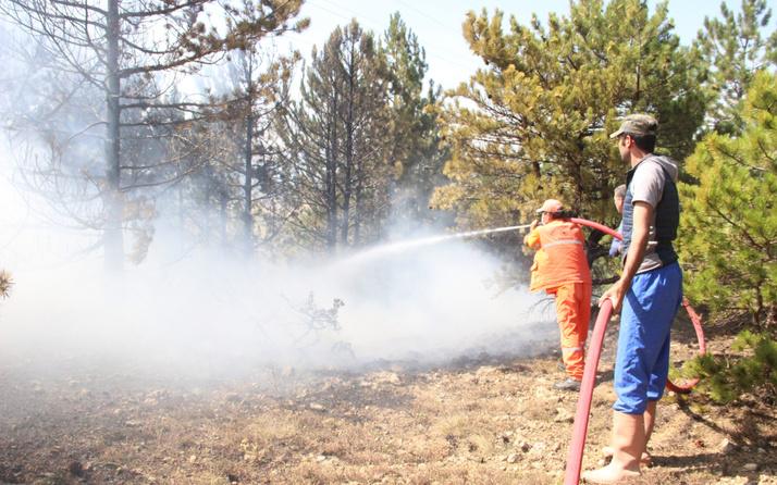 Bu kez Karaman'da yangın çıktı! Ekipler seferber oldu