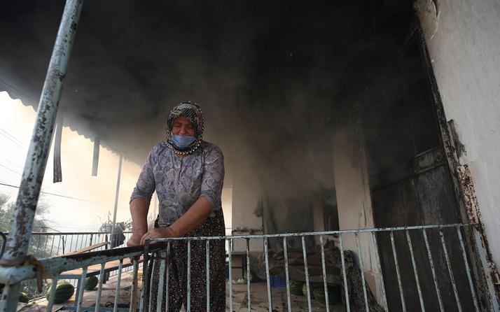 Antalya'da kanser hastası kadın tedavi parasını yangında kaybetti