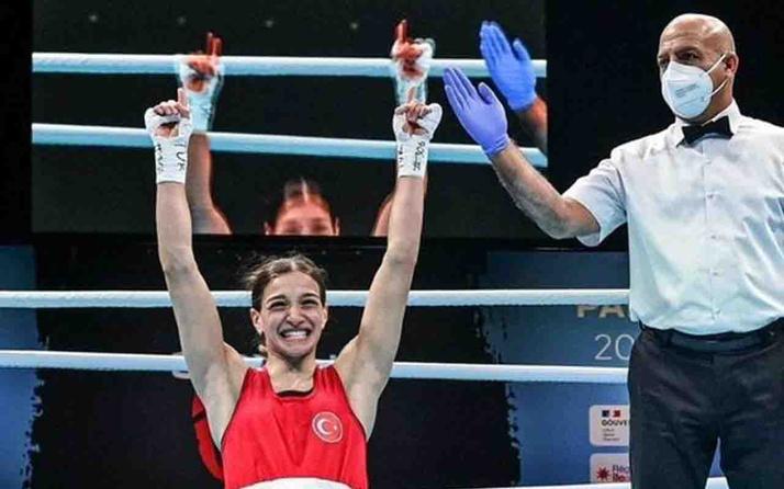 Buse Naz Çakıroğlu, Tokyo Olimpiyatları'nda çeyrek finalde