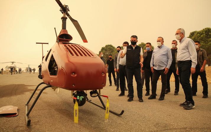 Antalya Manavgat'ta dev yangında kullanıldı! 8 saat havada kalabiliyor: İlk uçuşunu yapıyoruz