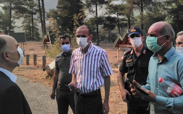 Kayseri Aladağlar Milli Parkı'ndaki yangın kontrol altına alındı