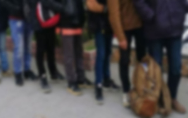 Ankara-Niğde otoyolu üzerinde 147 düzensiz göçmen yakalandı