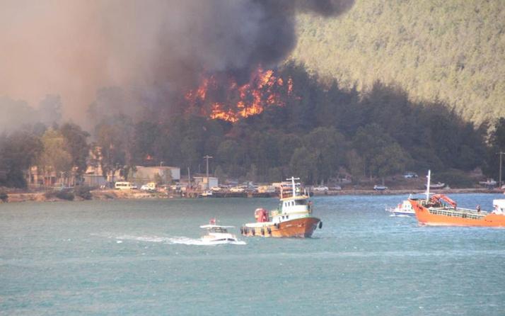 Fahrettin Altun paylaştı! 63 yangının 43'ü kontrol altına alındı