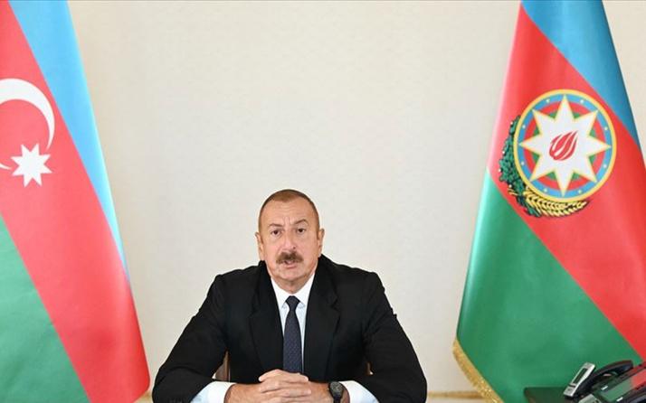 Aliyev'den Erdoğan'a orman yangınlarında ölenler için taziye mesajı
