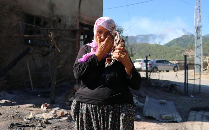 Adana Kozan orman yangını 3. gününde1 10 yıl önce bakkal dükkanı dün de evi yandı