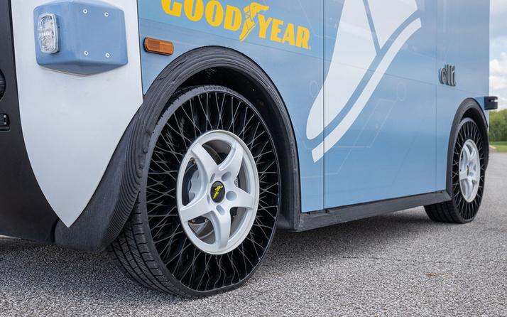Goodyear'ın havasız lastikleri ilk olarak orada uygulanacak