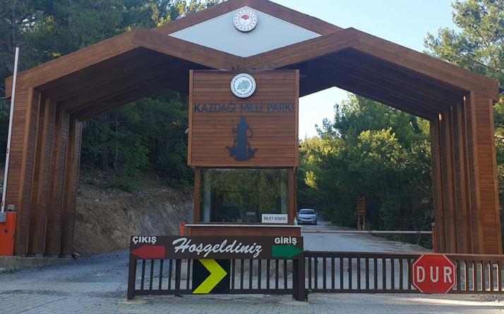 Kazdağı Millî Parkına girişler yasaklandı! Balıkesir Valiliği duyurdu