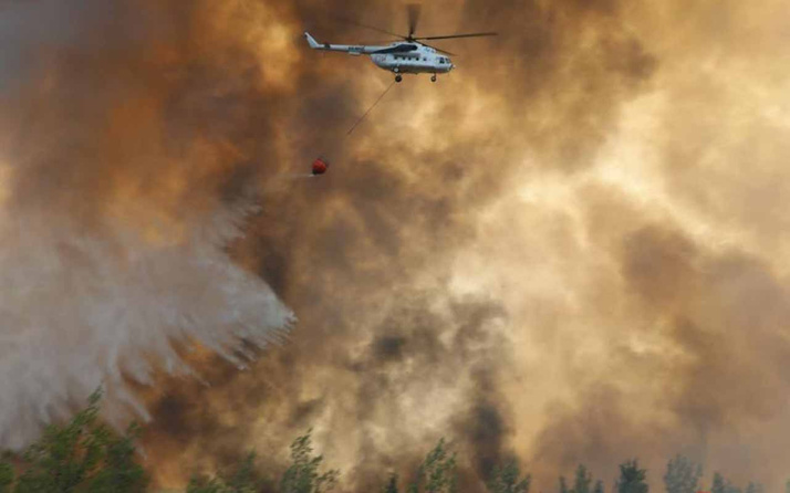 Türkiye'deki orman yangınlarının dumanları AB uydusunda! 'Günün fotoğrafı' diye paylaştılar