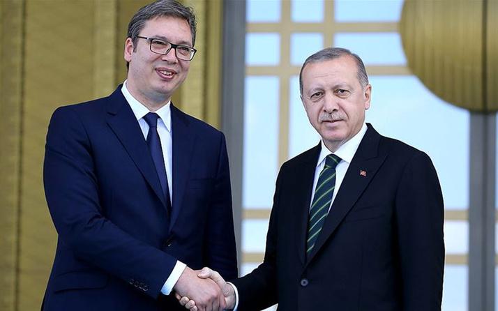 Cumhurbaşkanı Erdoğan Sırbistan Cumhurbaşkanı Aleksandar Vucic ile telefonda görüştü