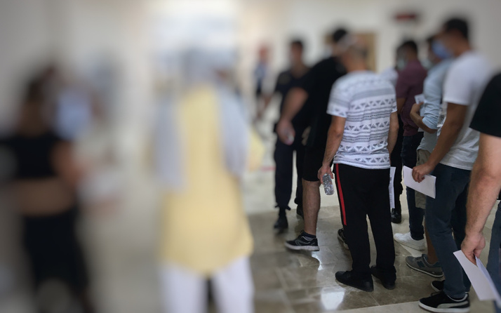 Bartın'da KPSS'ye giren kişide koronavirüs görülmesi üzerine 30 kişi karantinaya alındı