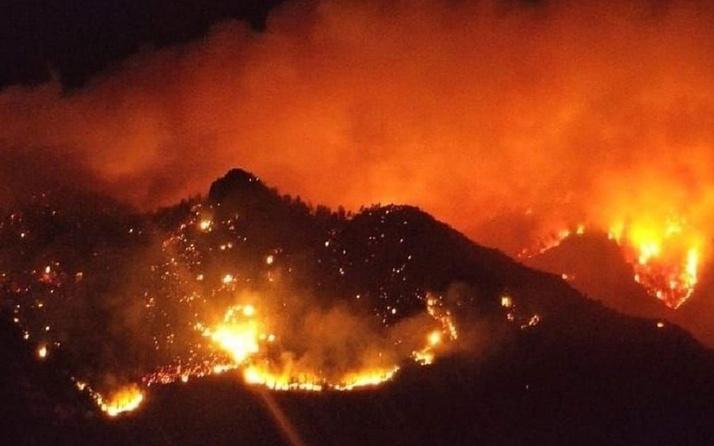 Antalya'nın Gazipaşa ilçesindeki orman yangını kontrol altına alındı