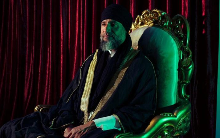 Muammer Kaddafi'nin oğlu Seyfülislam Kaddafi on yıl sonra ortaya çıktı