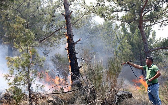 3 gündür sürüyordu! Mersin'deki orman yangını kontrol altına alındı