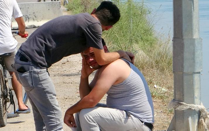 Adana'da yürek dağlayan bekleyiş! Haberle kahroldu gözyaşları izledi