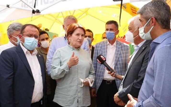 Meral Akşener'den yangın bölgesinde inceleme: Verilen sözlerini takibini şahsen yapacağım